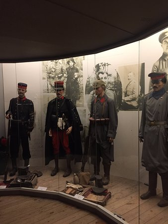 Zonnebeke, België: Some of the soldiers of WWI.