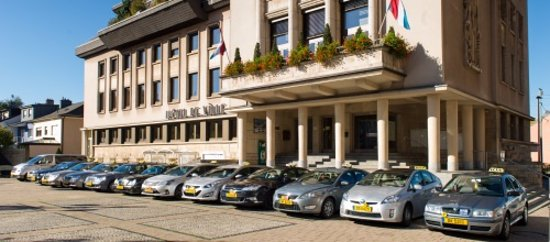 Ciudad de Luxemburgo, Luxemburgo: airport taxi fleet luxembourg