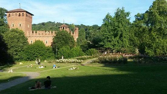 Borgo Medievale: Il parco adiacente