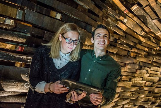 The interactive heritage exhibition at Dewar's Aberfeldy Distillery
