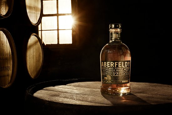 The Aberfeldy single malt - the heart malt of the Dewar's blend.