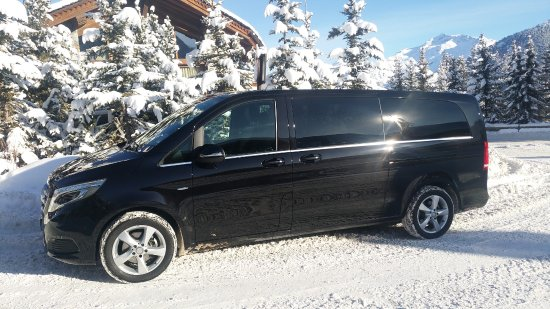 Courchevel, Prancis: Mercedes Classe V