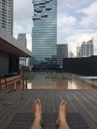 The Heritage Bangkok: Pool area.