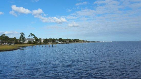 Newport, Carolina del Norte: view from the pier