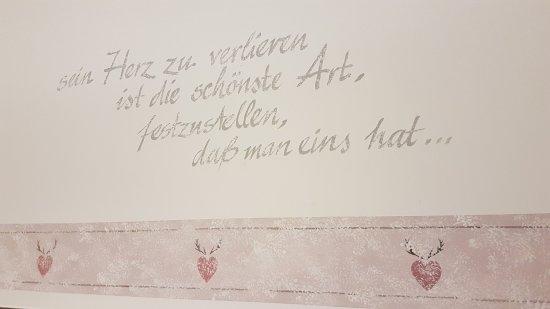 Ein Schöner Spruch Aus Der Dorf Alm Bild Von Dorf Alm Lippstadt