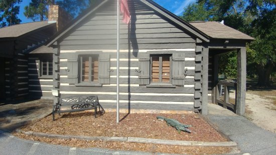 Little Ocmulgee State Park and Lodge: Ranger station