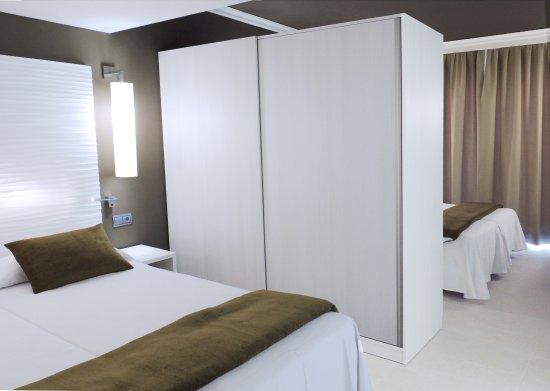 Hotel Cesar Augustus: Habitación familiar (29 m2 ) mas espaciosa para dar un mayor confort a las familias  (bajo petic