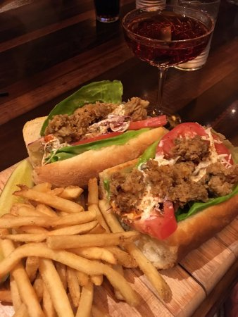 Specially Prepared Oyster Po Boy From Chef Ed O Brien Picture