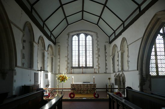 Brookland, UK: towards the altar
