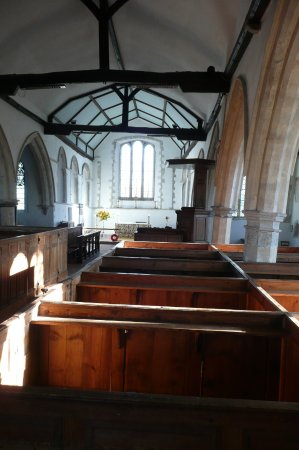 Brookland, UK: box pews