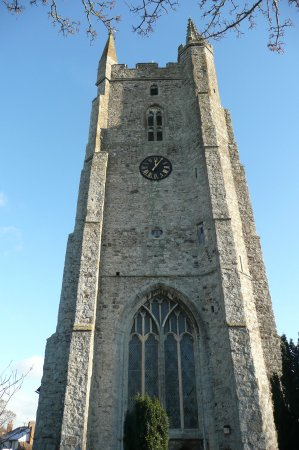 Lydd, UK: the tower - again