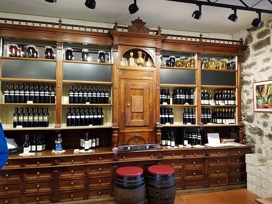 Castello Rametz - Wine Museum: enoteca