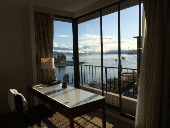 The Westin Bayshore, Vancouver: view from the tower