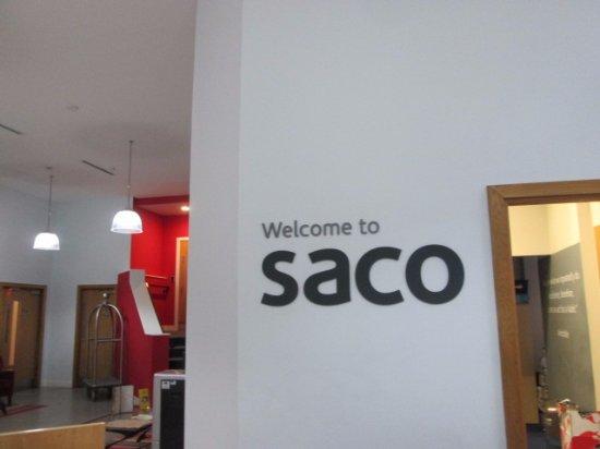 SACO Manchester - Piccadilly: SACO lobby