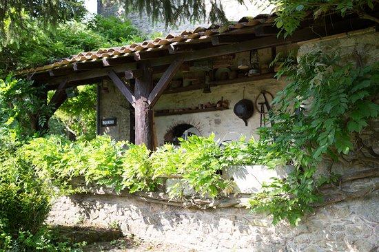 Landerrouet-Sur-Segur, France: Coin repas