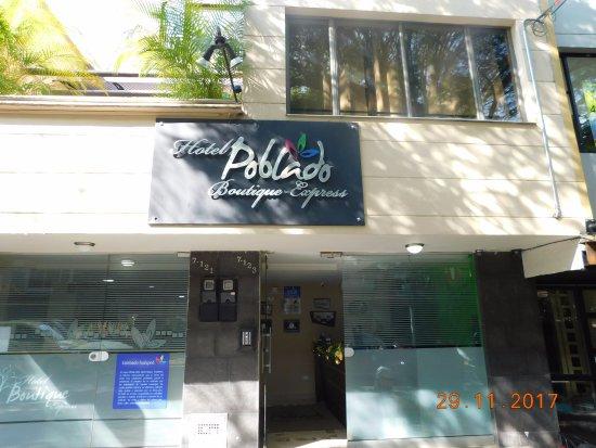Hotel Poblado Boutique Medellin: Fachada