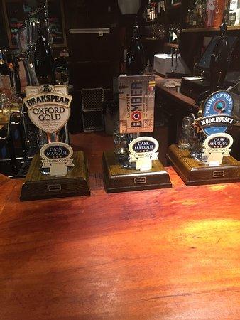 Barley, UK: Selection of our fantastic range of cask ales