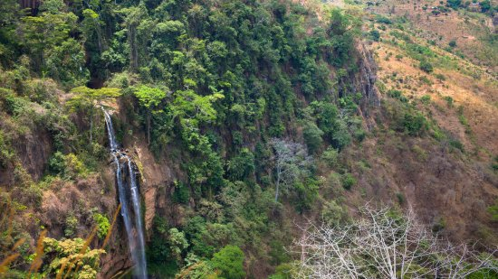 Livingstonia, Malawi: Nearby waterfall