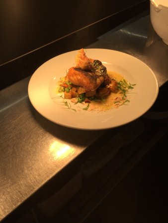 Barley, UK: Curried Cod Loin Special...Mouth Watering