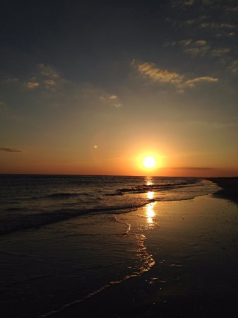 West Wind Inn: sunset on sanibel