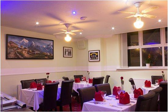 Clay Cross, UK: Kathmandu Gurkha Dining