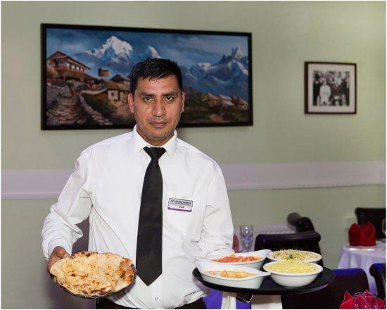 Clay Cross, UK: Serving Meal