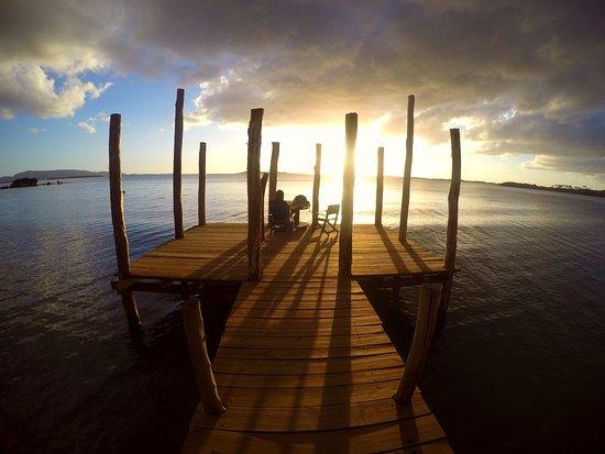 Poum, Nueva Caledonia: coucher de soleil