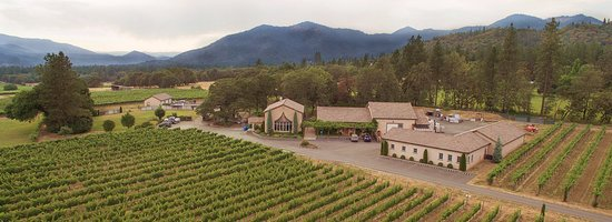 Grants Pass, Oregón: The Troon Vineyard winery and tasting room