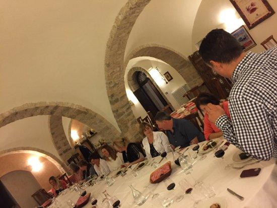 Carunchio, Italie : dining room