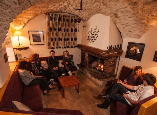 Serre-Chevalier, Francia: After dinner drinks in the lounge