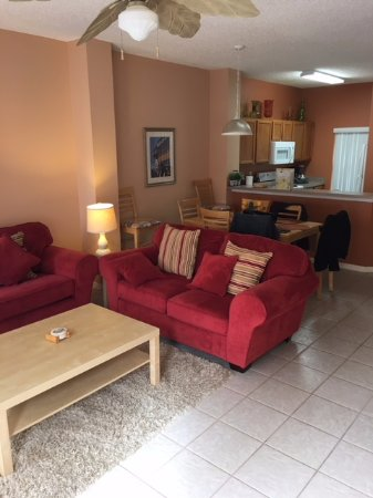 Terra Verde Resort: Living Room/Kitchen