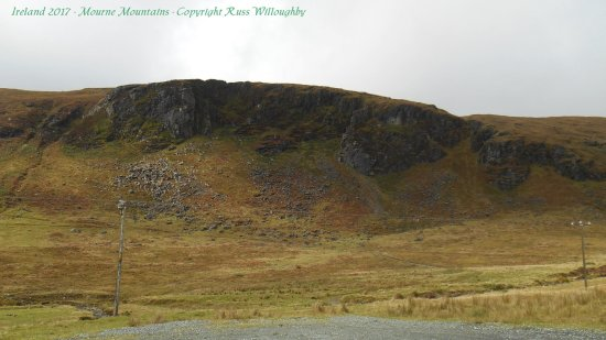 Condado de Down, UK: Just a small section off the road in the Mourne Mountains