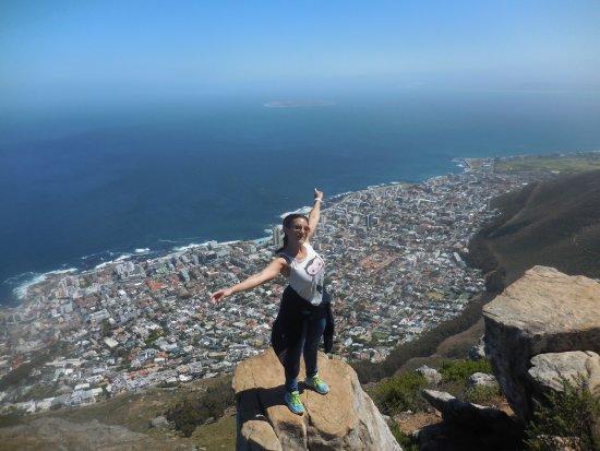Cape Town, South Africa: en haut de lion's head