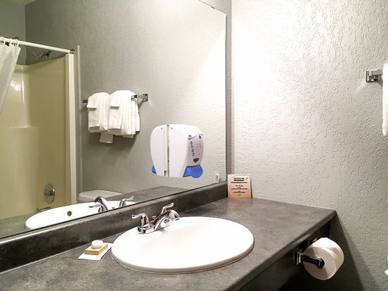 Silver Star, Καναδάς: One Bedroom with Alcove / 2 Bathroom Apartment - Bathroom 2 with Shower and Tub Combination (Roo