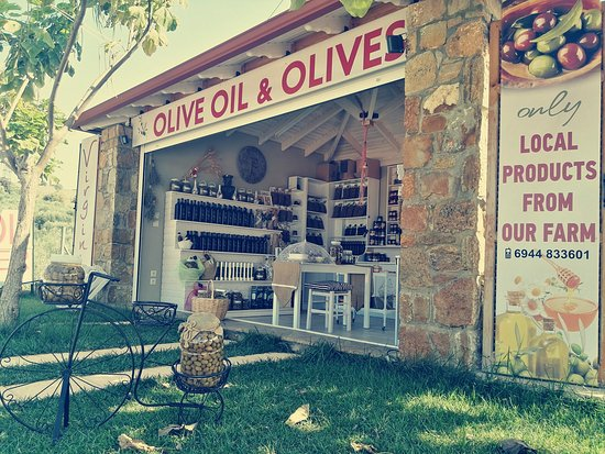 Virginia Olive Oil & Olives