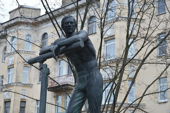 Monument to Gymnast Adrianov