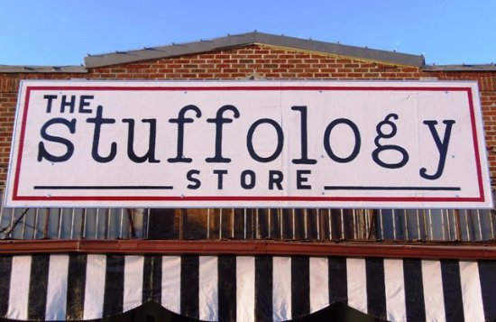 Stuffology in on Main Street in Llano across from the courthouse square