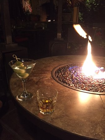 Soquel, CA: Sitting by the fire pit