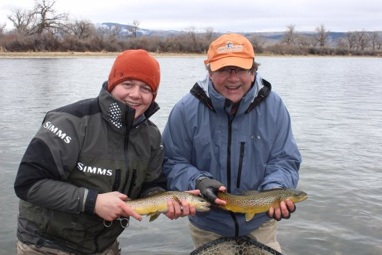 Fort Smith, MT: Doubles are not an uncommon occurrence on the Bighorn!