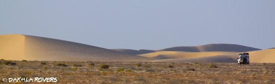 Ad Dakhla, Western Sahara: Roaming around te dunes