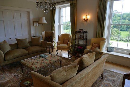 Caerhays, UK: Wohnzimmer