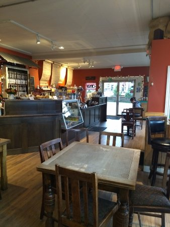 Courtenay, كندا: Friendly staff and great coffee