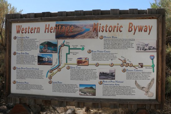 Melba, ID: The park is a stop in the Historic Byway