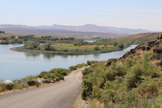 Melba, ID: View of the Snake River