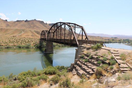 Melba, ID: Guffey Railroad Bridge (1897)