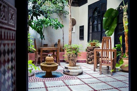 Riad d'Or: Espace jardin