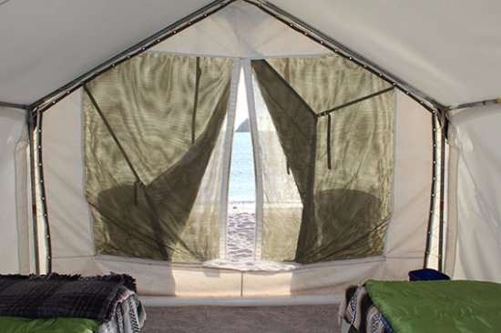 Baja Expeditions Walk-in Safari-Style Tents & Walk-in Safari-Style Tents - Picture of Baja Expeditions La Paz ...