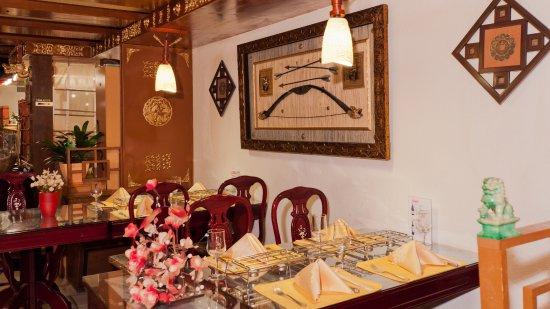 Lenzburg, Schweiz: Innenleben des Restaurants
