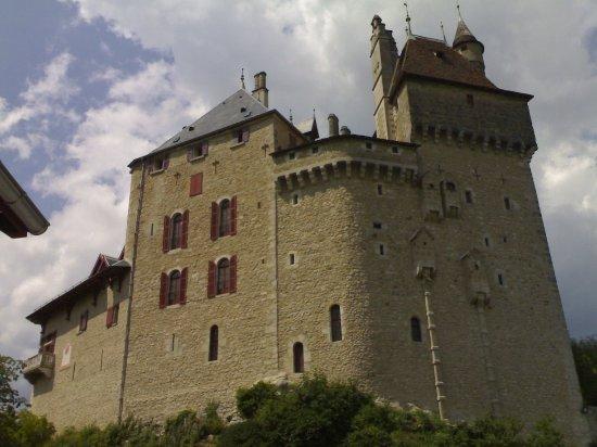 Domaine et Château de Montrottier : ... solo dall'esterno!