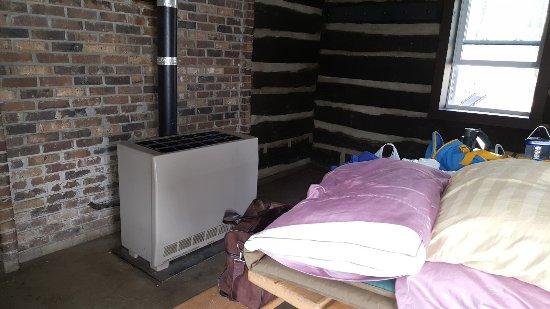 Fort Custer Recreation Area: Electric heat